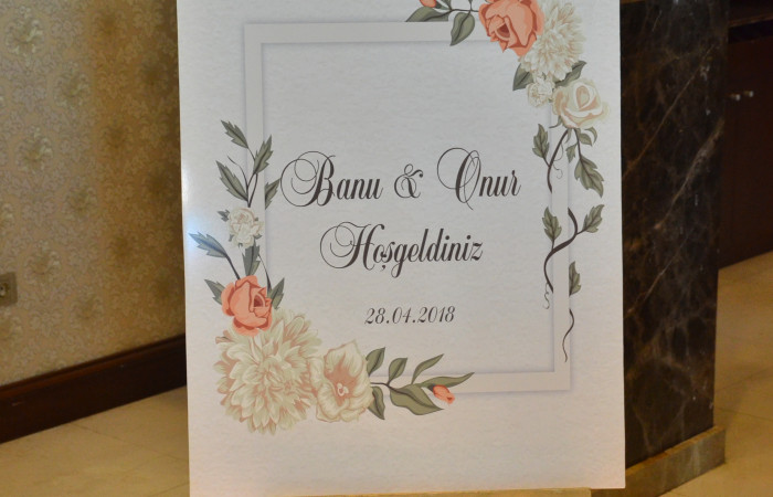 Banu & Onur Wedding - 28.04.2018