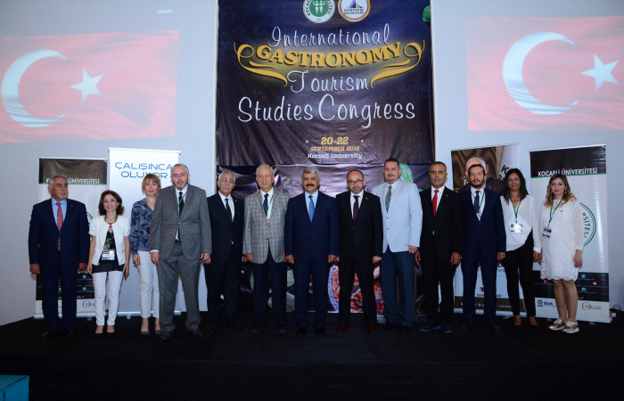 Kocaeli University International Gastronomic Tourism Research Congress 20-22.09.2018