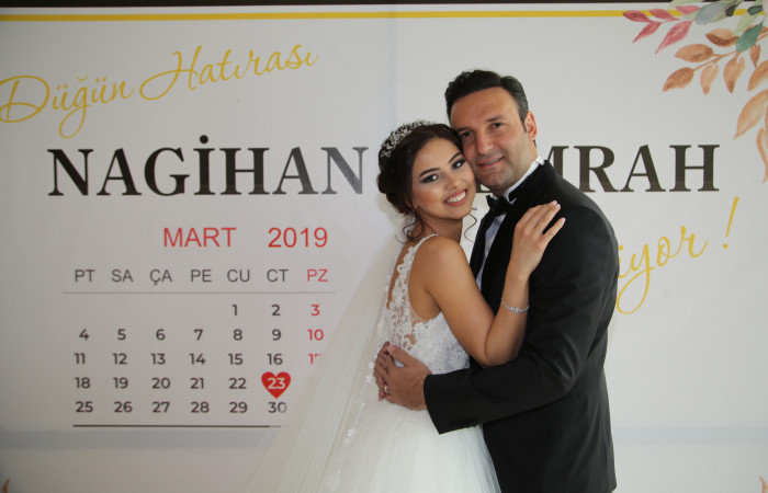 Nagihan & Emrah Karaağ Wedding 23.03.2019